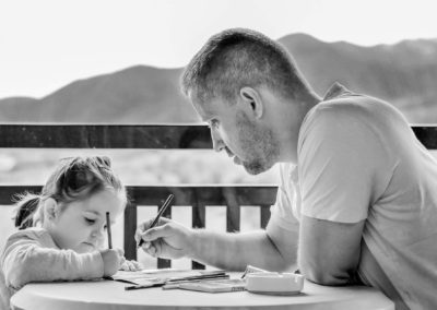 Father Daughter Coloring