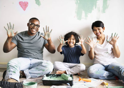 Seated-Family-Painting